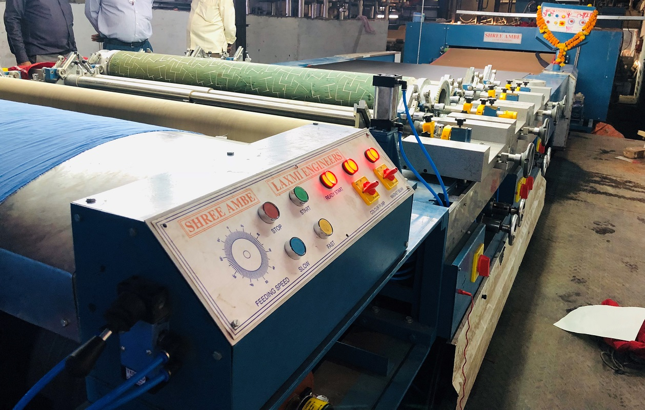 Rotary Screen Printing Machine Manufacturer in AHMEDABAD